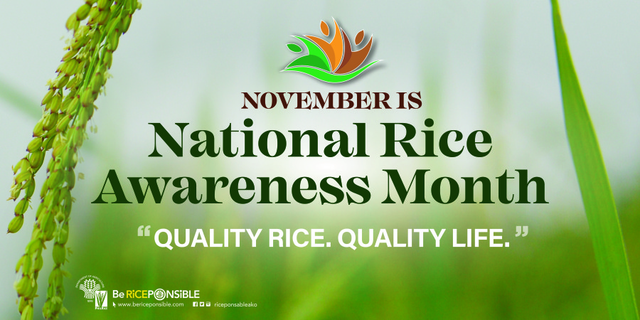 November is Nat'l Rice Awareness Month