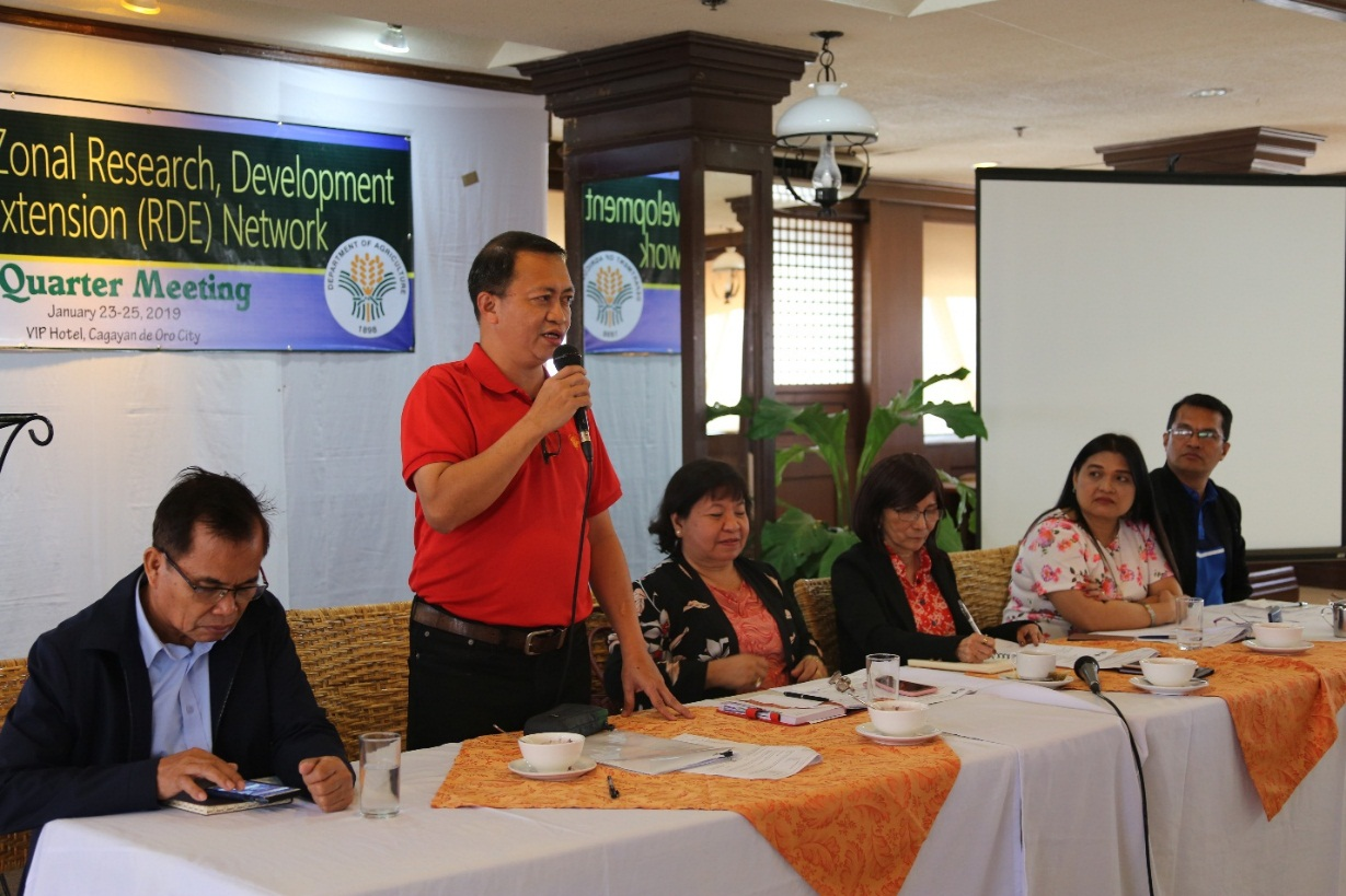 Mindanao Researchers convene for quarterly meeting