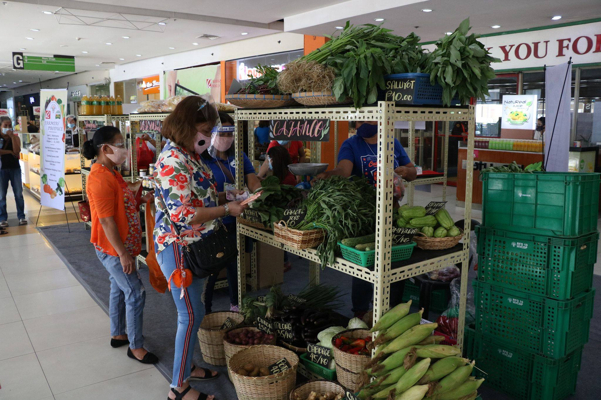 Farmers' Produce initiative links agri-businesses to local mall, consumers