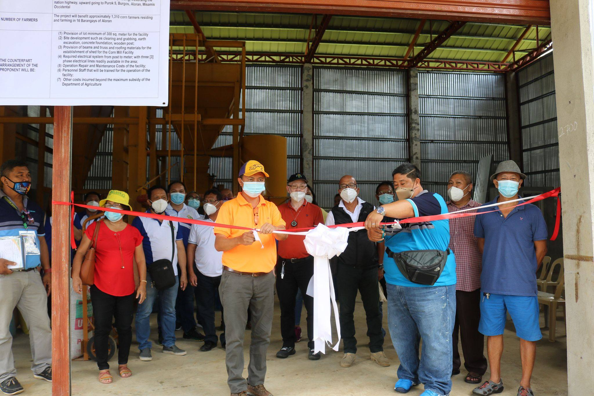 MisOcc 1st district towns receive P17.61-M agri-interventions from DA-NorMin
